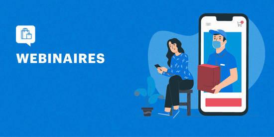 Des Webinaire gratuit pour votre passage au e-commerce