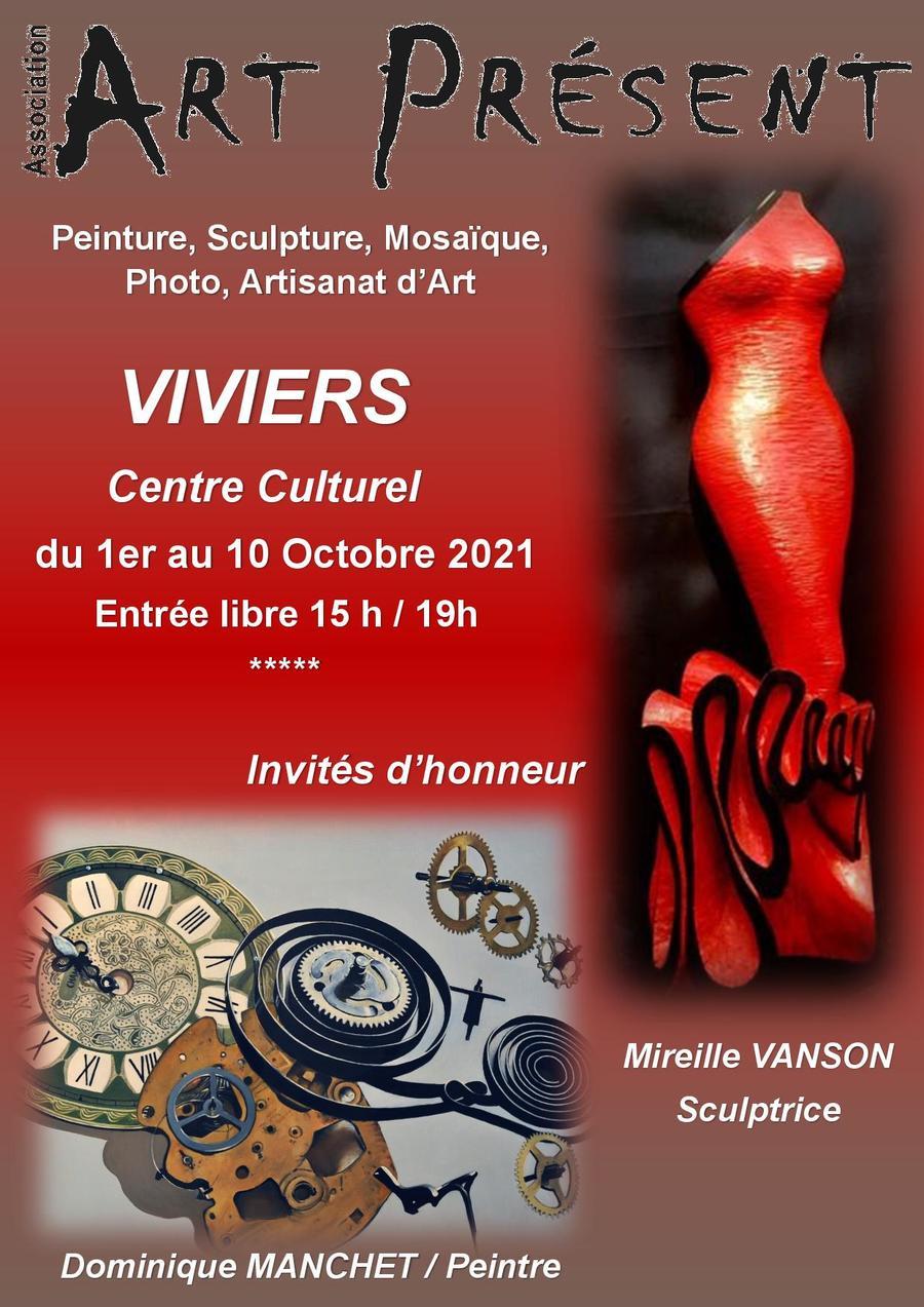 Exposition Art Présent
