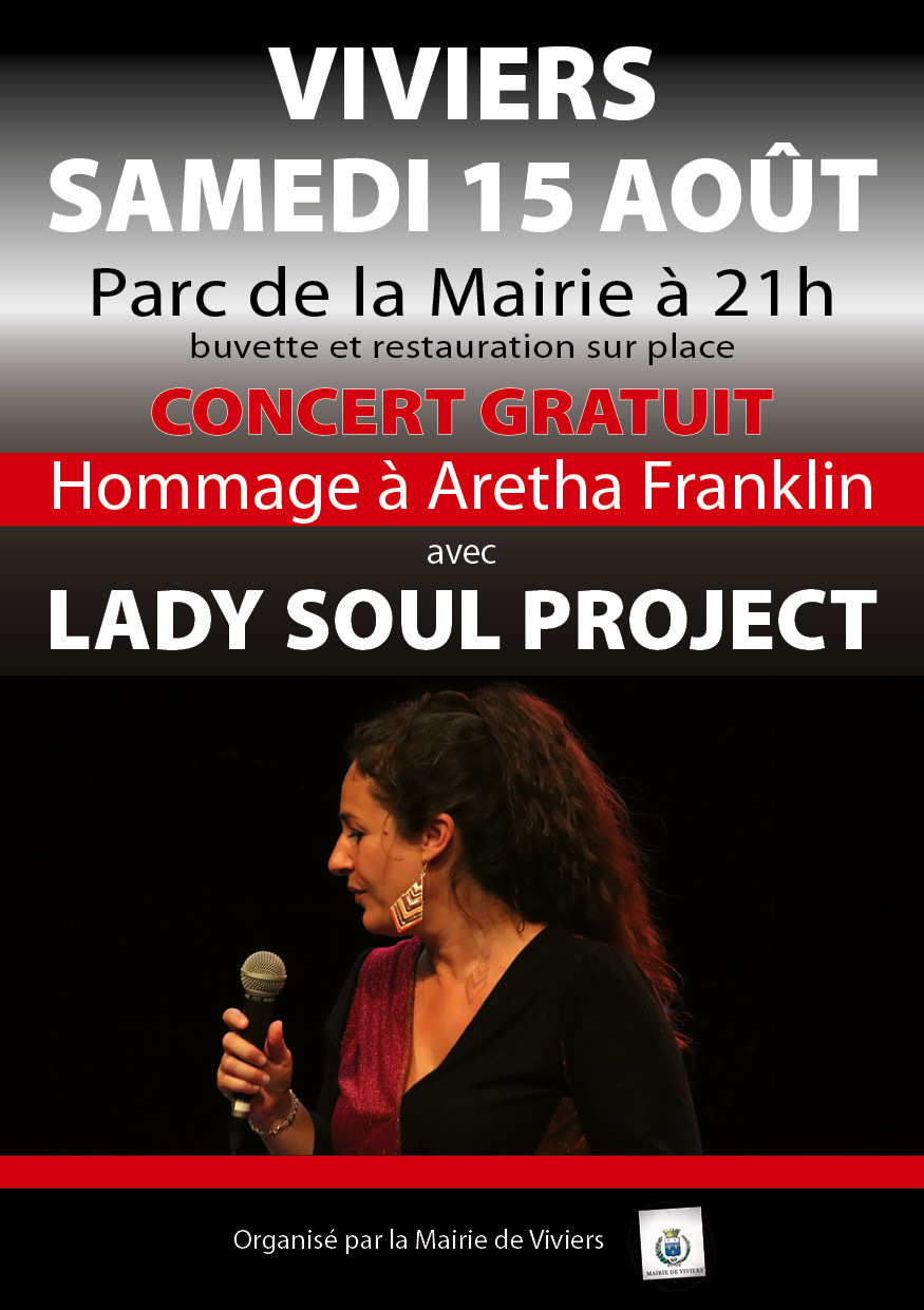 Concert hommage à Aretha Franklin