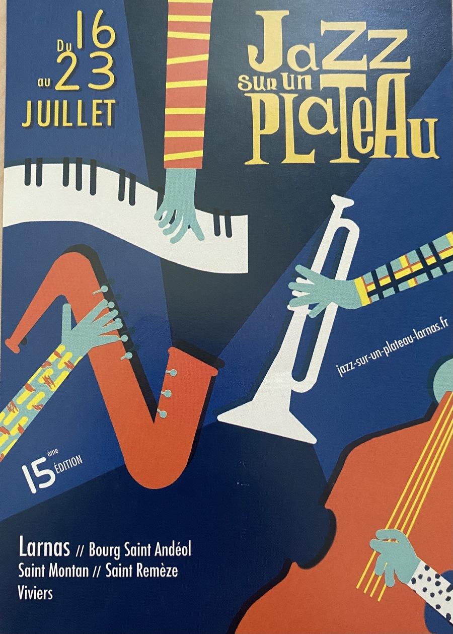 Jazz sur un plateau