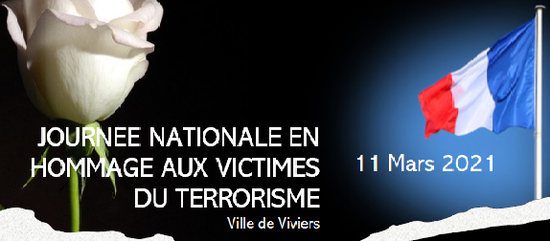 Journée nationale en hommage aux victimes du terrorisme