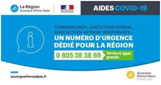 COVID 19 - Aides aux entreprises